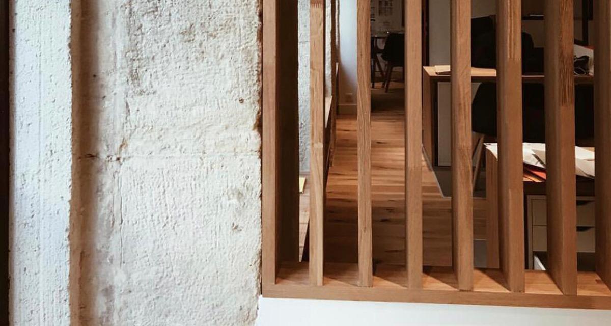 verriere en structure bois